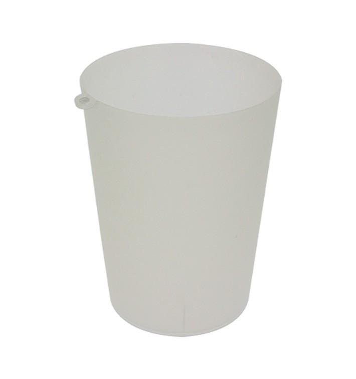 Vaso Reutilizable con Argolla PP Translúcido 900ml (14 Uds)