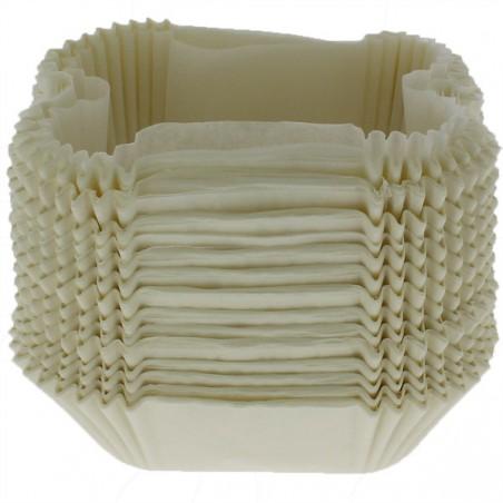 Cápsula de Papel para Molde 14,0x9,5x5,0cm (200 Uds)