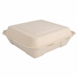 Envase MenuBox Caña Azúcar 225x225x75mm (50 Uds)
