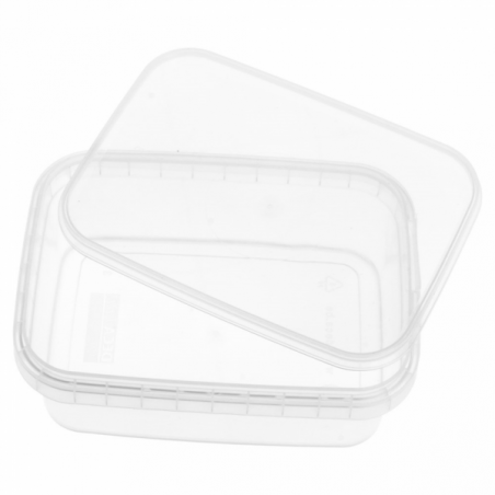 Envase Plástico y Tapa Inviolable 280ml 120x88mm (384 Uds)