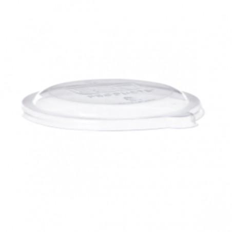 Tapa Compostable PLA Transparente Bol 175 y 235ml (50 Uds)
