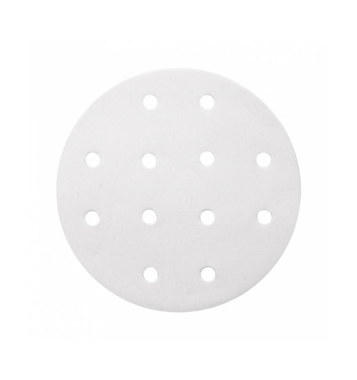 Papel Antigrasa Blanco para Vaporera Ø15 cm (2000 Uds)