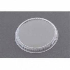 Tapa de Plastico para Vaso Degustacion Transp. 8,3cm (20 Uds)