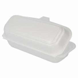 Envase Foam HotDog Blanco 210x105x64 mm (500 Uds)