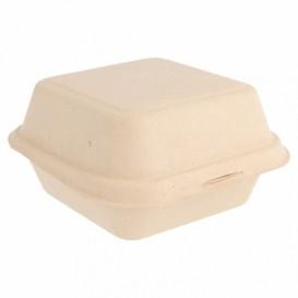 Envase Hamburguesa Caña de Azúcar 152x152x84mm (50 Uds)