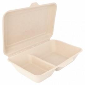 Envase MenuBox Caña Azúcar 2C 225x165x64mm (50 Uds)
