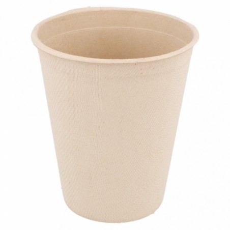 Vaso de Caña de Azucar Natural 260ml (50 Uds)