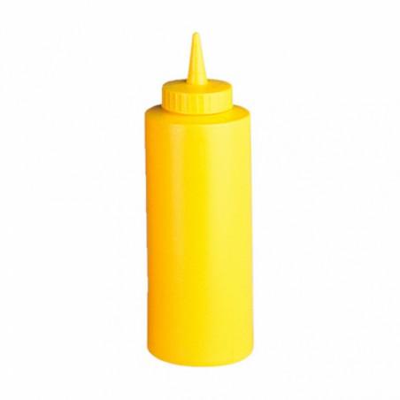 Peras para Salsas Plástico Amarillo 360ml (6 Uds)