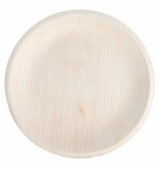 Plato Redondo Hoja de Palma 18,0 cm (200 Uds)