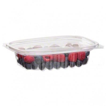 Envase compostable PLA con tapa 235 ml (300 Uds)