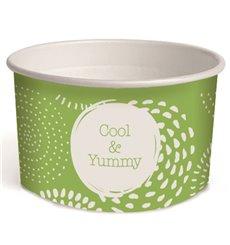 Tarrina de Cartón Helados 3oz/100ml Cool&Yummy (2.600 Uds)