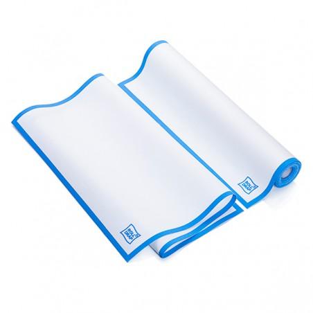 """Paños en Rollo """"Roll Drap"""" Cenefa Azul 40x64cm P64cm (200 Uds)"""