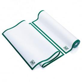 """Paños en Rollo """"Roll Drap"""" Cenefa Verde 40x64cm P64cm (200 Uds)"""