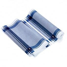 """Paños en Rollo """"Roll Drap"""" Vintage Azul 40x64cm P64cm (10 Uds)"""
