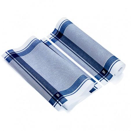 """Rollo Paños """"Roll Drap"""" Vintage Azul 40x64cm P40cm (10 Uds)"""