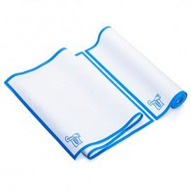 """Paños en Rollo """"Roll Drap"""" Cenefa Azul 40x80cm P80cm (8 Uds)"""