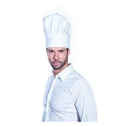 Gorro Cocinero Chef Algodón Blanco (1 Unidad)