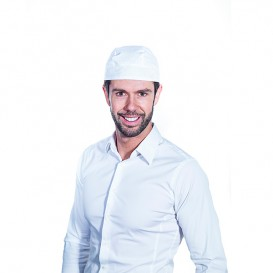 Gorro Cocinero Pirata Algodón Blanco (1 Unidad)