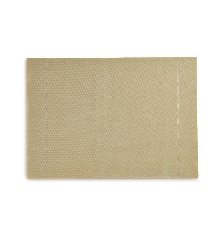 """Mantel Individual """"Day Drap"""" Gris-Verde 32x45cm (72 Uds)"""