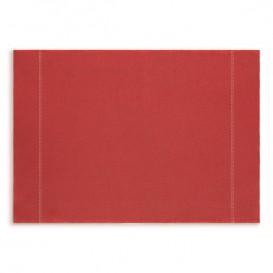 "Mantel Individual ""Day Drap"" Rojo 32x45cm (72 Uds)"