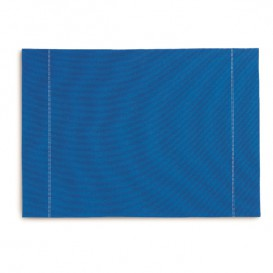 "Mantel Individual ""Day Drap"" Azul Royal 32x45cm (72 Uds)"