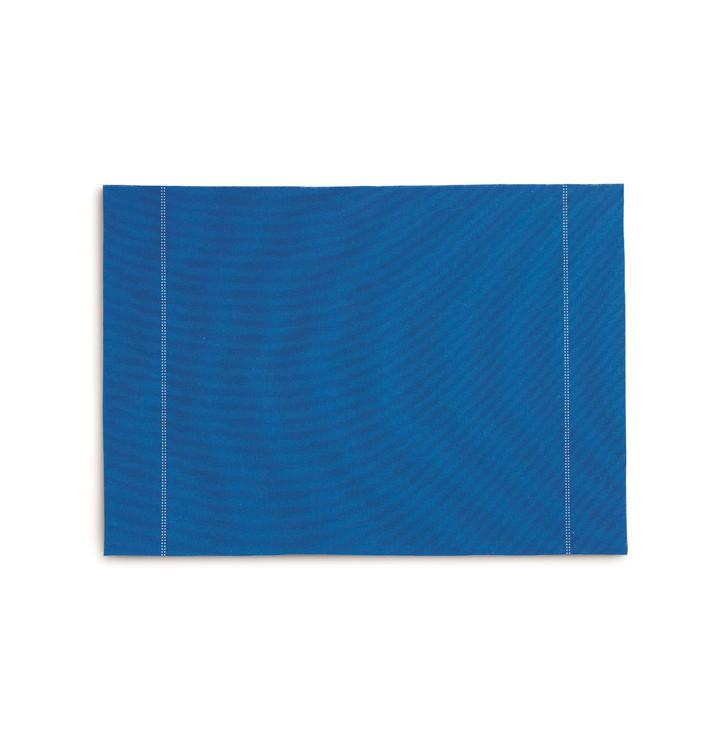 "Mantel Individual ""Day Drap"" Azul Royal 32x45cm (72 Uds)"