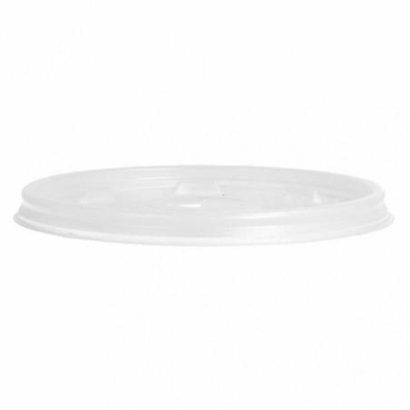 Tapa Cruz para Vaso Termico Foam EPS Ø8,9cm (1000 Uds)