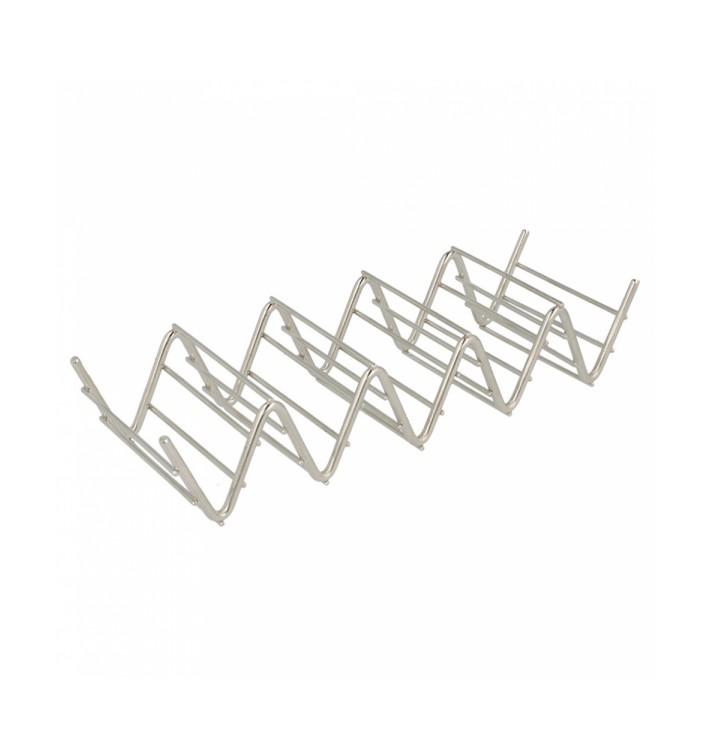 Soporte para Bocadillos de Acero 197x64x38mm (1 Ud)