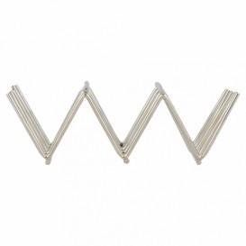 Soporte para Bocadillos de Acero 118x51x37mm (12 Uds)