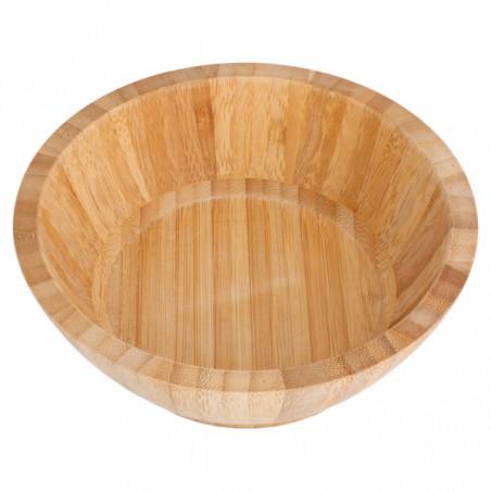 Bol de Bambú Ø17x6cm (1 Ud)