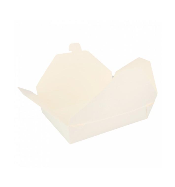 Caja Carton Americana Blanca 197x140x46mm 1470ml (50 Uds)
