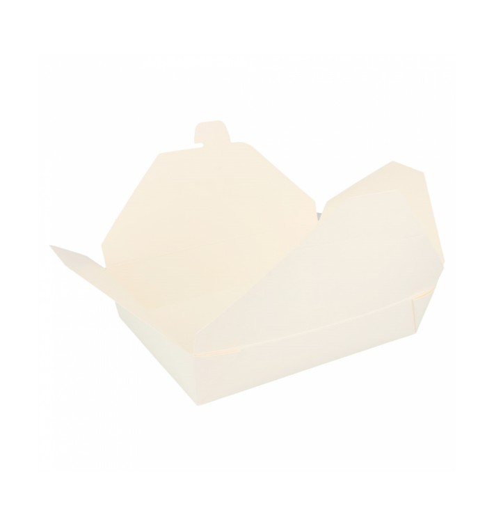 Caja Carton Americana Blanca 197x140x46mm 1000ml (200 Uds)