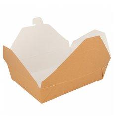 Caja Carton Americana Natural 197x140x46mm 1500ml (200 Uds)