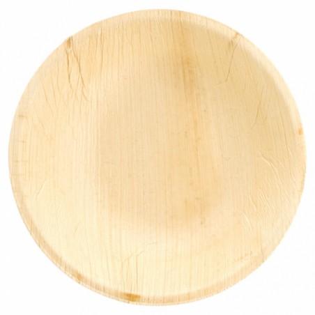 Bol Redondo Hoja de Palma Ø18x3,5cm (25 Uds)
