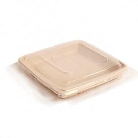 Tapa Plástico PP Envase Caña de Azúcar 23cm (150 Uds)