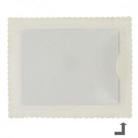 Bandeja de Carton Blonda Dorada 27x32 cm (100 Uds)