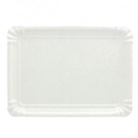 Bandeja de Carton Rectangular Blanca 28x36 cm (300 Uds)