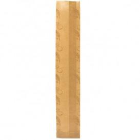 """Bolsa de Papel Kraft """"Panes"""" 9+3x51cm (125 Uds)"""