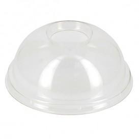 Tapa Cupula Agujero Vaso PET y PLA 265, 364, 425 y 550ml Ø9,5cm (2000 Uds)