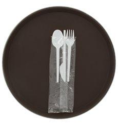 Set Cubiertos Plastico Tenedor, Cuchillo y Cuchara (25 Uds)