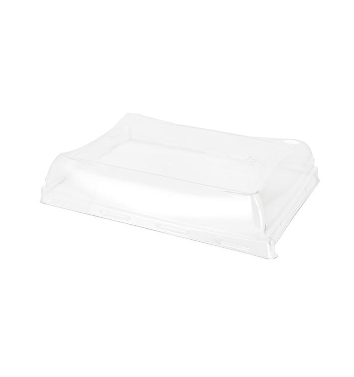 Tapa de Plastico para Bandeja de 12x16cm (300 Uds)