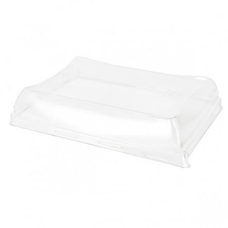 Tapa de Plástico PET para Bandeja de 12x16cm (300 Uds)