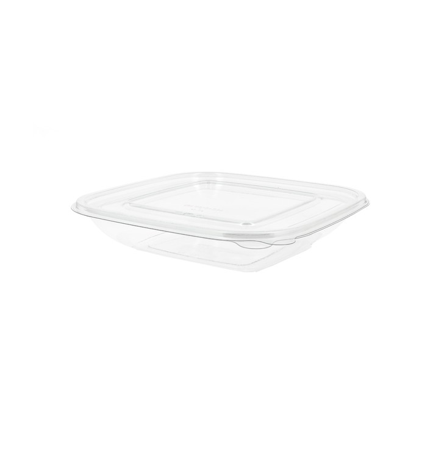 Bol de Plástico PET 750ml 175x175x50mm (50 Uds)