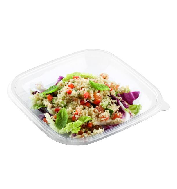 Bol de Plástico PET 500ml 175x175x40mm (50 Uds)