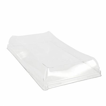 Tapa de Plastico para Bandeja de 12x22cm (300 Uds)