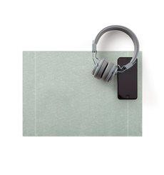 "Mantel Individual ""Day Drap"" Gris Perla 32x45cm (12 Uds)"