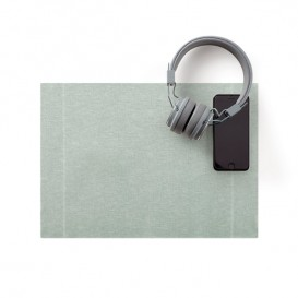 "Mantel Individual ""Day Drap"" Gris Perla 32x45cm (72 Uds)"