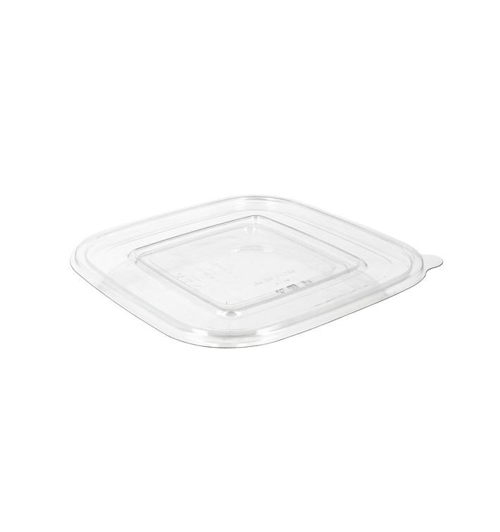 Tapa Plana Plástico para Bol PET 190x190mm (300 Uds)