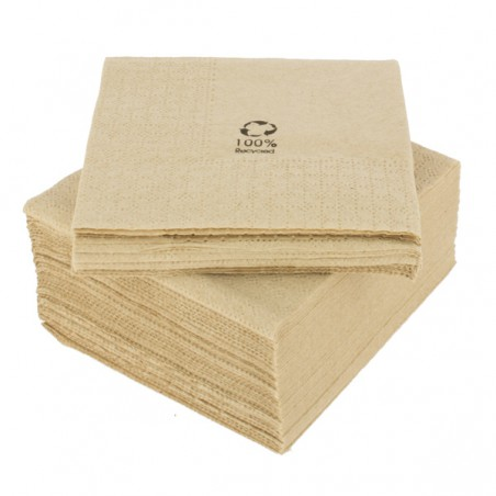 "Servilleta Cenefa Eco ""Recycled"" 20x20cm 2C (6000 Uds)"