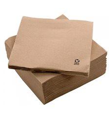 "Servilleta Papel Eco ""Recycled"" 20x20cm 2C P-P (3000 Uds)"